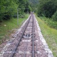Photo taken at Funicolare Mendola - Mendelbahn by Francesco Z. on 7/13/2014