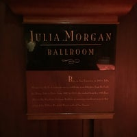 Photo taken at Julia Morgan Ballroom by Faran T. on 11/3/2016