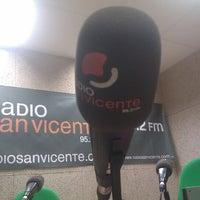 Photo taken at Radio San Vicente 95.2 FM by Miquel S. on 1/14/2013