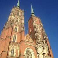 Das Foto wurde bei Ostrów Tumski von Олег Г. am 8/18/2016 aufgenommen