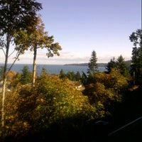 Photo taken at Cordova Bay by Ingrid J. on 10/8/2013