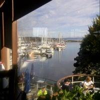 Photo taken at The Marina Restaurant by Ingrid J. on 10/19/2014