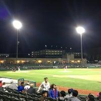 Photo taken at Stockton Ballpark by Josh V. on 4/3/2013