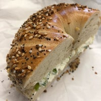 Photo taken at Bagels & Schmear by Nicky P. on 3/28/2018