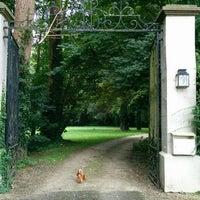 "Photo taken at Kasteel ""De Drie Torens"" by Dimitri R. on 6/9/2014"