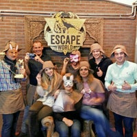 Photo taken at The Escape Hunt Experience by Dimitri R. on 10/24/2015
