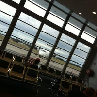 Photo taken at Newcastle Airport (NTL) by Alberto E. on 9/28/2012