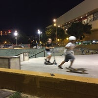 Photo taken at Skate Park Fuengirola by Robert S. on 9/4/2017