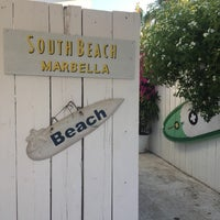 Photo taken at South Beach by Robert S. on 7/9/2017
