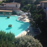 Photo taken at Colonna Park Porto Cervo Hotel North Sardinia by Jose O. on 6/26/2014