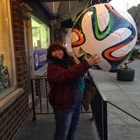 Photo taken at Upper 90 Soccer Store by Emily V. on 12/26/2013