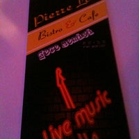Photo taken at Pierre loti Cafe & Bistro by Zekiye G. on 11/2/2013