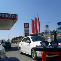 Photo taken at Лукоил (Битола 011) / Lukoil (Bitola 011) by Zorica T. on 7/29/2015