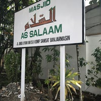 Photo taken at Masjid As Salam Kantor Samsat Banjarmasin by Muhammad E. on 8/4/2017