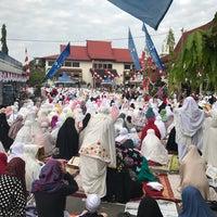 Photo taken at Masjid As Salam Kantor Samsat Banjarmasin by Muhammad E. on 8/31/2017