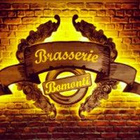 Photo taken at Brasserie Bomonti by Uğur K. on 4/23/2014