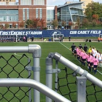 Photo taken at FirstEnergy Stadium - Cub Cadet Field by Jacob A. on 10/20/2013