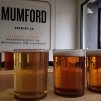 Photo taken at Mumford Brewing by Rachel K. on 6/13/2015