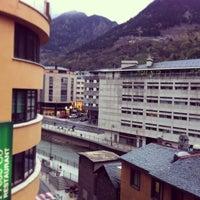 Photo taken at Hesperia Hotel Andorra la Vella by Benito R. on 5/2/2013