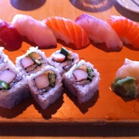 Photo taken at Kisaku Sushi by Jenette T. on 3/4/2013
