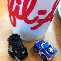 Photo taken at Chick-fil-A Humble by Adam W. on 3/15/2013