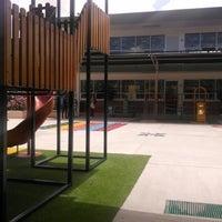 Photo taken at Colegio Cervantes by Gaby C. on 8/26/2014