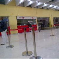 Photo taken at Lion Air FLOPS 1A by Rhara D. on 1/11/2014