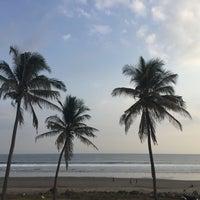 Photo taken at Petangahan Beach by Popy T. on 7/22/2015