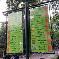 Photo taken at Kebun Binatang Ragunan by Monalisa N. on 10/19/2013