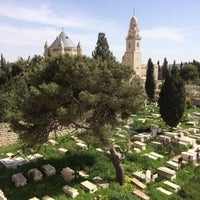 Photo taken at Armenian Cemetery Mount Zion by VYamkyByh N. on 3/9/2015
