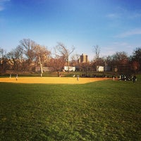 Photo taken at Central Park North Meadow Field 6 by Paul C. on 4/10/2014