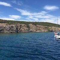 Photo taken at Güneş Adası by Burak A. on 7/7/2016
