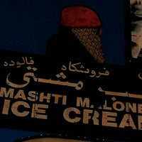 Photo taken at Mashti Malone Ice Cream by Krishna S. on 4/24/2014