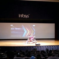 Photo taken at Infosys Building 50 Convention Center by Ananthalakshmi R. on 12/24/2015