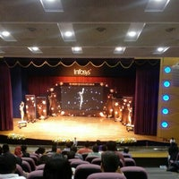 Photo taken at Infosys Building 50 Convention Center by Ananthalakshmi R. on 3/2/2016