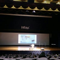 Photo taken at Infosys Building 50 Convention Center by Ananthalakshmi R. on 12/22/2015