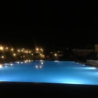 Photo taken at Gouvia Marina Pool by Γαρυφαλιά Κ. on 8/30/2016