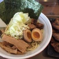 Photo taken at らぁ麺SHOP hide by Ken H. on 6/24/2015