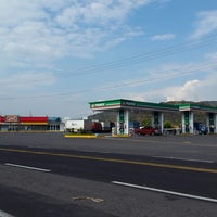 Photo taken at Gasolinera 11935 by Esther V. on 4/6/2017