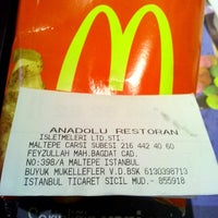 Photo taken at Mc Donald's by ErkaN on 4/26/2014