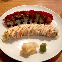 Photo taken at Samurai Sushi by Chelsea P. on 10/23/2012