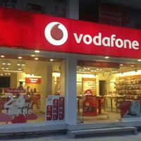 Photo taken at Donusum Vodafone Store by Orhan Ç. on 6/17/2014
