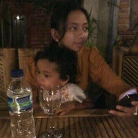 Photo taken at Yessy Cafe Senggigi Lombok by Esti O. on 11/3/2012