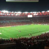 Photo taken at Camarote da Tim by Iracema G. on 9/6/2014