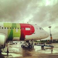 Photo taken at Lisbon Humberto Delgado Airport (LIS) by Kaysha on 1/9/2013