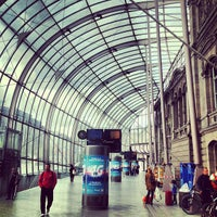 Photo taken at Strasbourg Railway Station by Kaysha on 6/9/2013