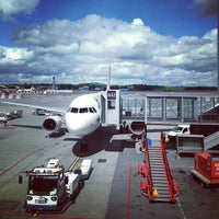 Photo taken at Oslo Airport (OSL) by Kaysha on 6/16/2013