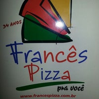 Photo taken at Frances Pizza by Beto E. on 10/27/2013