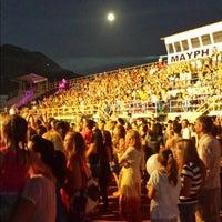 Photo taken at Δημοτικό Στάδιο Καλαμάτας by Nikos M. on 7/11/2014