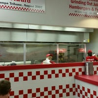 Photo taken at Five Guys by Michael D. on 4/12/2016